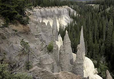 The Pinnacles At Crater Lake Poster