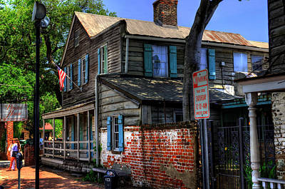 The Pirates House In Savannah Georgia Poster