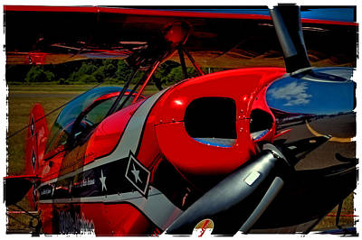 The Pitts S2-b Biplane Poster by David Patterson