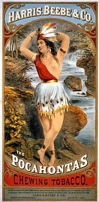 The Pocahontas Poster by Studio Art