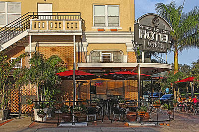 The Ponce De Leon Hotel Poster by HH Photography of Florida