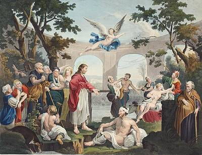 The Pool Of Bethesda, Illustration Poster