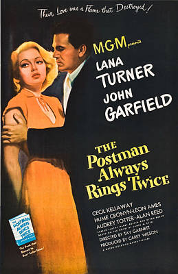 The Postman Always Rings Twice - 1946 Poster