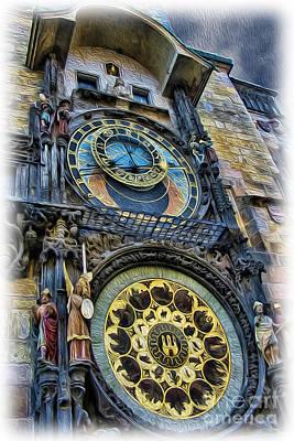 The Prague Astronomical Clock II Poster