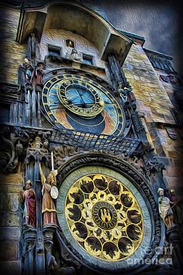The Prague Astronomical Clock Poster