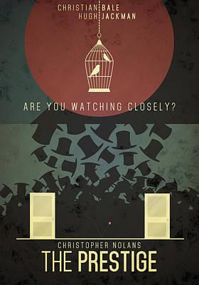 The Prestige Poster by Anton Lundin