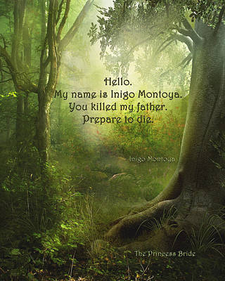 The Princess Bride - Hello Poster
