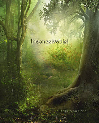 The Princess Bride - Inconceivable Poster