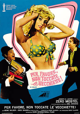 The Producers Aka Per Favore, Non Poster by Everett