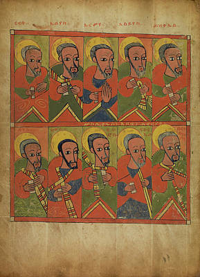 The Prophets And The Apostles Unknown Ethiopia Poster