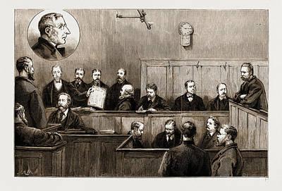 The Prosecution Of The Freiheit Examination Of Herr Johann Poster
