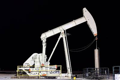 The Pumpjack Oil Pump Poster