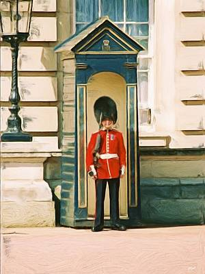 The Queen's Guard Poster