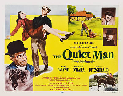 The Quiet Man, From Lower Left Barry Poster