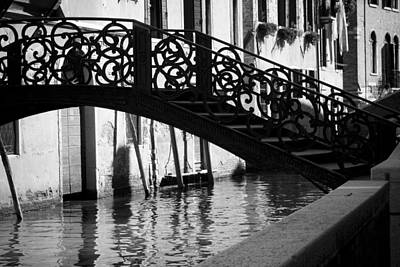 Poster featuring the photograph The Quiet - Venice by Lisa Parrish