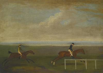 The Race Between Lord Poster by Celestial Images