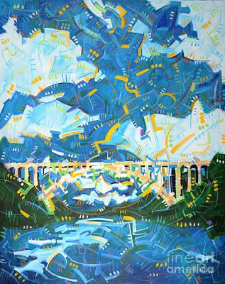 The Rainbow Bridge Poster by Michael Ciccotello