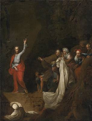 The Raising Of Lazarus Poster by Celestial Images