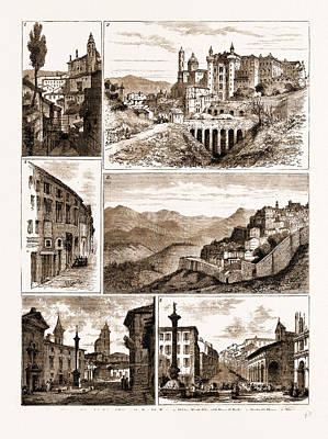 The Raphael Quarter-centenary, Urbino, Italy Poster