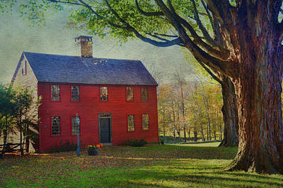 The Red House Poster by Barbara Manis