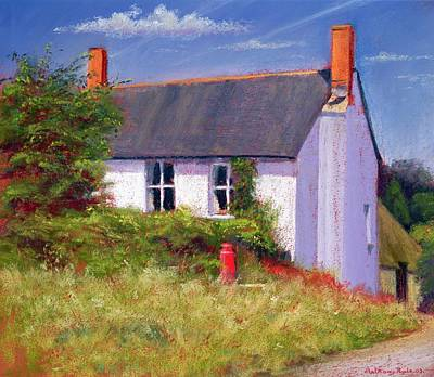 The Red Milk Churn, 2003 Pastel On Paper Poster by Anthony Rule