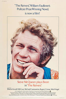 The Reivers, Us Poster, Steve Mcqueen Poster