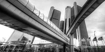 The Renaissance Center Poster by Twenty Two North Photography