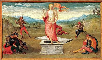 The Resurrection Poster by Perugino