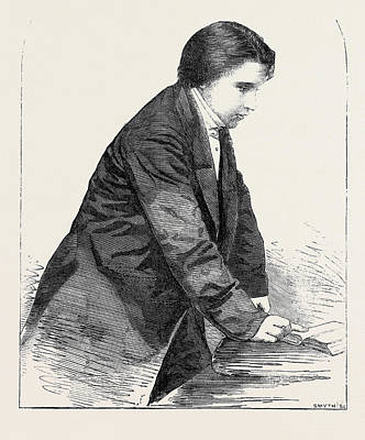The Rev. C.h. Spurgeon From A Photograph By The London Poster by English School