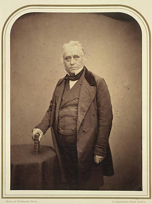 The Right Hon. Lord Macaulay Poster by British Library