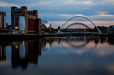 The River Tyne Poster