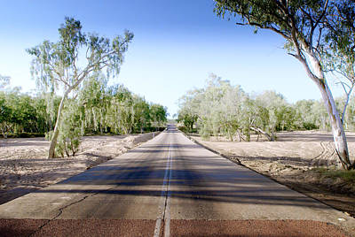 Poster featuring the photograph The Road To Back Of Beyond by Holly Kempe