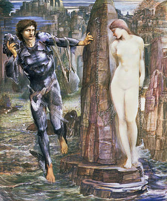 The Rock Of Doom, C.1876 Poster by Sir Edward Coley Burne-Jones