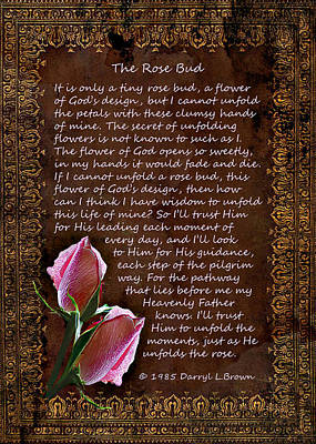 The Rose Bud Poster
