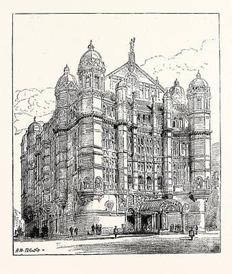 The Royal English Opera House In Cambridge Circus Exterior Poster