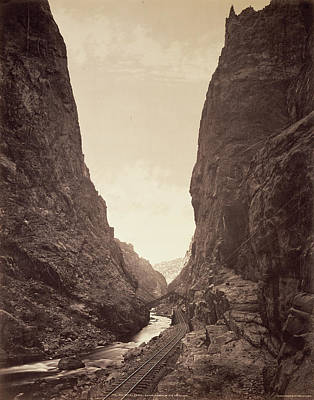 The Royal Gorge, Grand Cañon Of The Arkansas William Henry Poster by Litz Collection