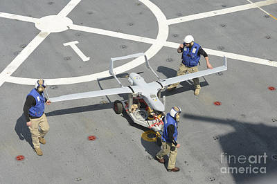 The Rq-21a Small Tactical Unmanned Air Poster