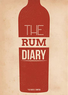 The Rum Diary Poster by Mike Taylor