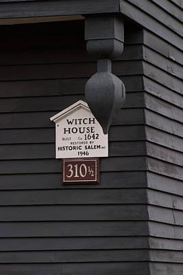 The Salem Massachusetts Witch House Poster by Jeff Folger