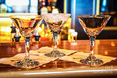 The Martini Sampler Poster by Rene Triay Photography