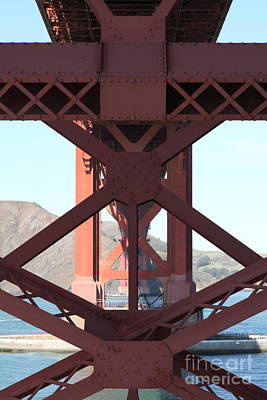 The San Francisco Golden Gate Bridge 5d21633 Poster by Wingsdomain Art and Photography