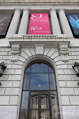 The San Francisco War Memorial Opera House - San Francisco Ballet 5d22582 Poster