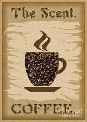 The Scent - Coffee Poster