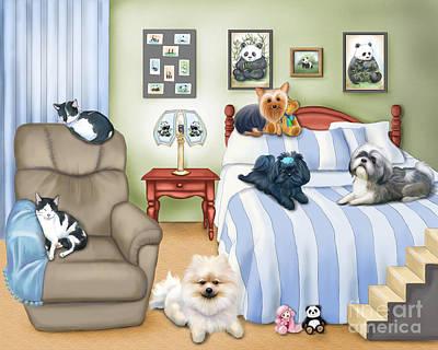The Schofield S Bedroom  Poster