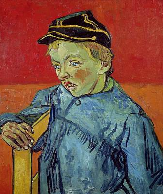 The Schoolboy Poster by Vincent Van Gogh