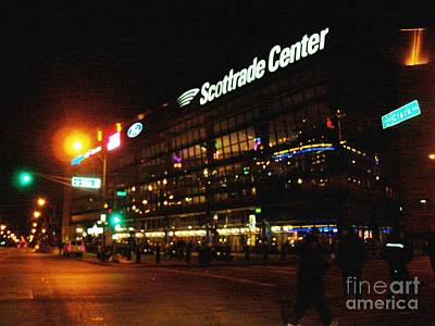 The Scott Trade Center Poster by Kelly Awad