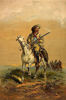 The Scout Buffalo Bill Poster