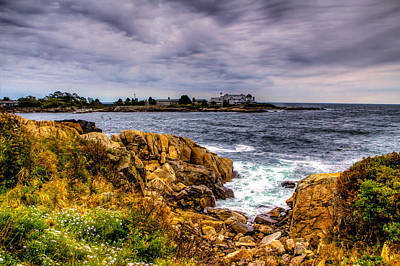 The Sea At Kennebunkport Poster