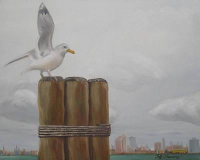 The Seagull's Landing Poster