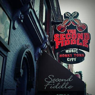 The Second Fiddle Poster by Linda Unger
